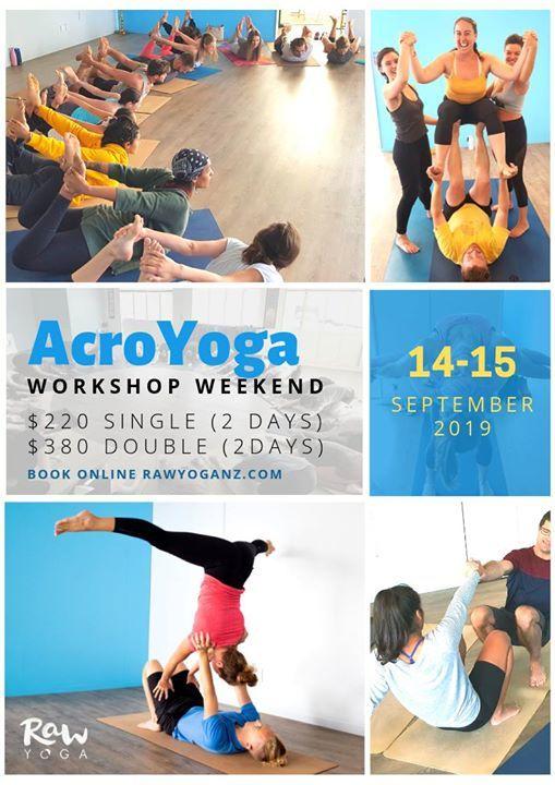 Acro Yoga  FULL Weekend Workshop