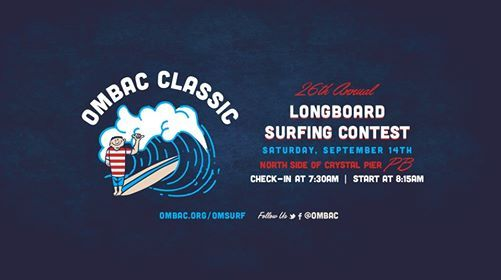 26th Annual OMBAC OMSurf Classic Longboard Competition
