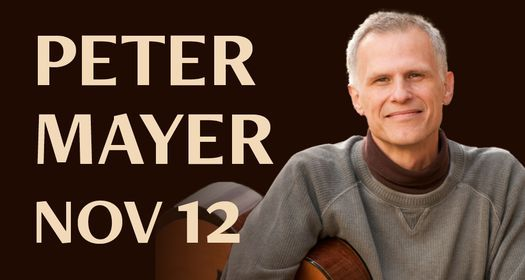 Peter Mayer, 12 November | Event in Dover | AllEvents.in