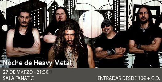 Noche Heavy: Histeria – Norwald – Guarida – ONUS BAAL en Sevilla, 5 March | Event in Seville | AllEvents.in