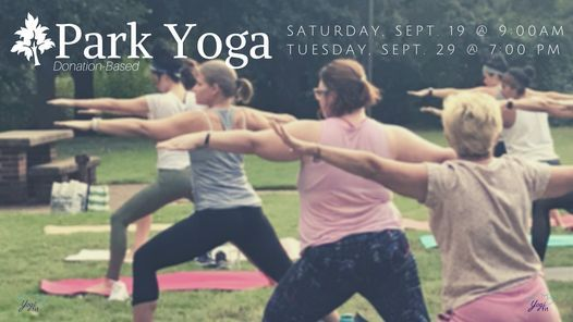 Yoga in the Park (donation-based)