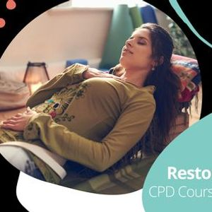 Online Teaching Restorative Yoga CPD Course