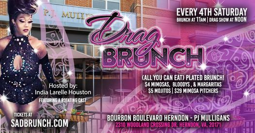 Sizzling Saturdays Drag Brunch, 24 April | Event in Herndon | AllEvents.in