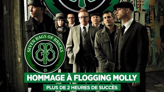 Seven Bags of Bricks – Hommage à Flogging Molly, 17 March | Event in Quebec | AllEvents.in