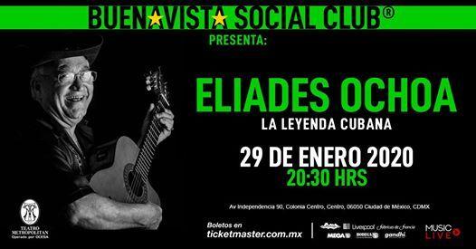 Eliades Ochoa en Teatro Metropolitan