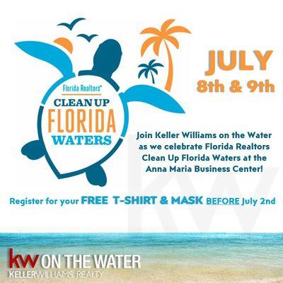 FL Realtors Cleanup Florida Waterways