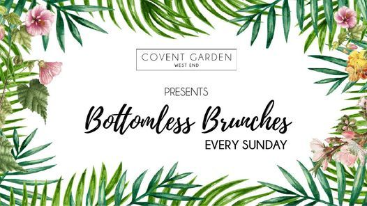 Bottomless Brunches Every Sunday