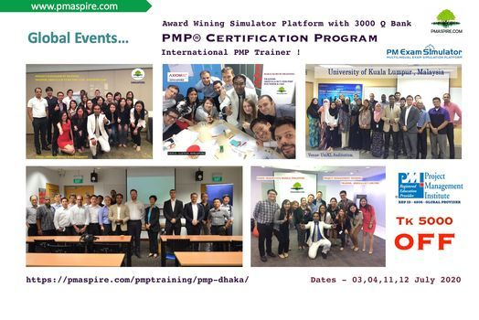 PMP Certification-SEP 2020  Last Batch on Current Edition