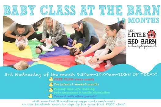 Baby class at the barn