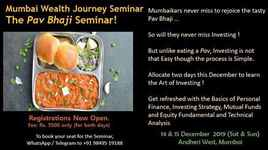 Mumbai Wealth Journey Seminar on Investing