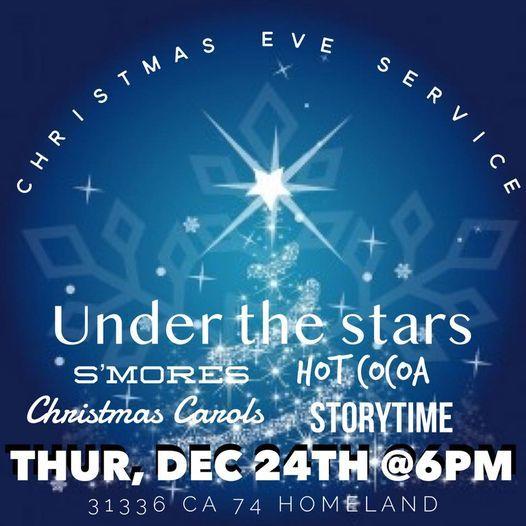 Christmas Eve Worship 2020 Near Menifee Ca Christmas Eve Service, His Light on the Hill, Menifee, 24 December