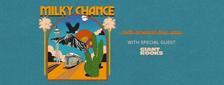 Milky Chance live at the Tabernacle 2021 (Atlanta, GA), 6 December   Event in Atlanta   AllEvents.in
