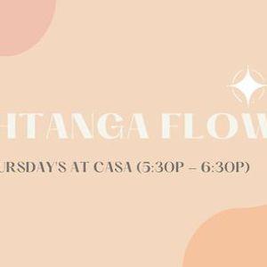 Ashtanga Flow (Thursdays at Casa)