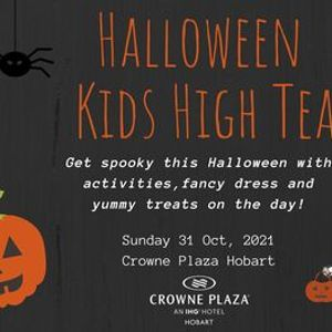 Halloween Kids High Tea 2021