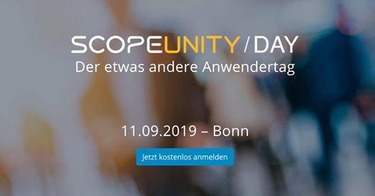 1. Scopeunity Day - Der etwas andere Anwendertag