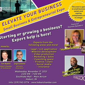 ELEVATE Your Business Small Business & Entrepreneurial Expo
