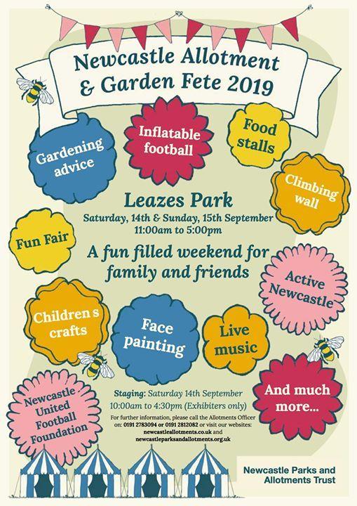 Newcastle Allotment & Garden Fete 2019