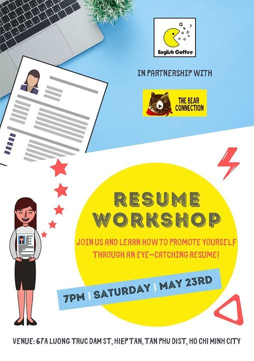 Resume Building Workshop At English Coffee Ho Chi Minh City