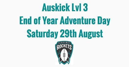 KingswayJFC Auskick Lvl 3 EOY Adventure Day