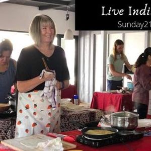 Live Indian Cooking Class
