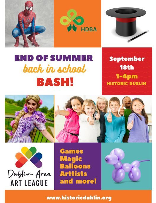 End of Summer- Back in School Bash   Event in Dublin   AllEvents.in