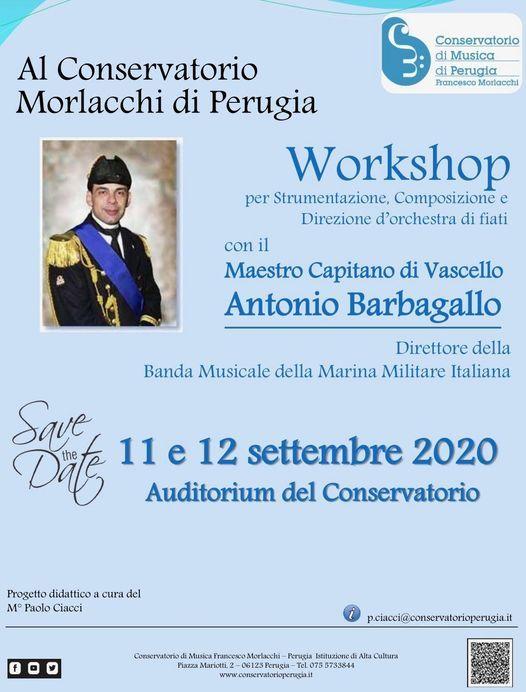 Workshop con il Maestro Antonio Barbagallo