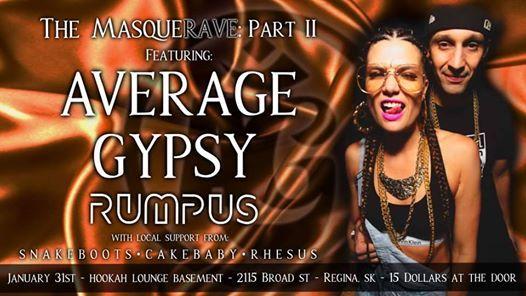 MasqueRAVE II w Average Gypsy