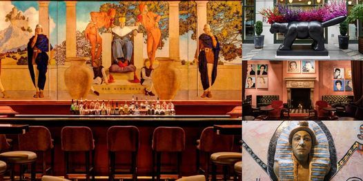 'The Hidden Art Treasures Inside NYC's Hotel Bars and Lobbies' Webinar, 26 April | Online Event | AllEvents.in
