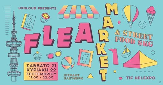FLEA Market & Street Food  by Upnloud
