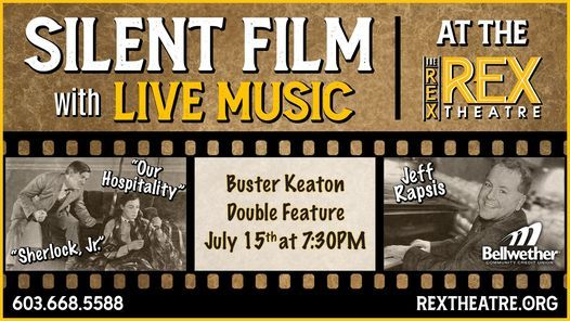 Silent Film with Live Music at the Rex Theatre, 28 October | Event in Tema | AllEvents.in