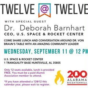 Twelve at Twelve Dr. Deborah Barnhart