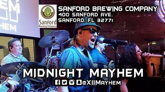 Midnight Mayhem at Sanford Brewing!, 19 March | Event in Sanford | AllEvents.in