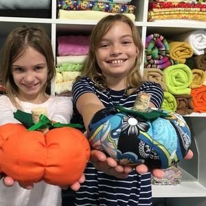 Saturday Sewing For Kids Fabric Pumpkins