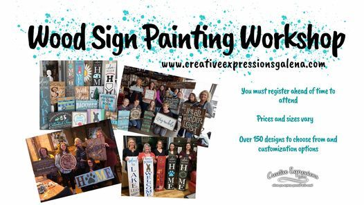 Miles, IA- Wood Sign Painting Workshop at Stalker's Pub, 16 December | Event in Miles | AllEvents.in
