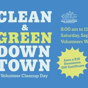 Clean & Green Downtown Volunteer Cleanup Day