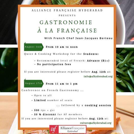 Gastronomie  la Franaise
