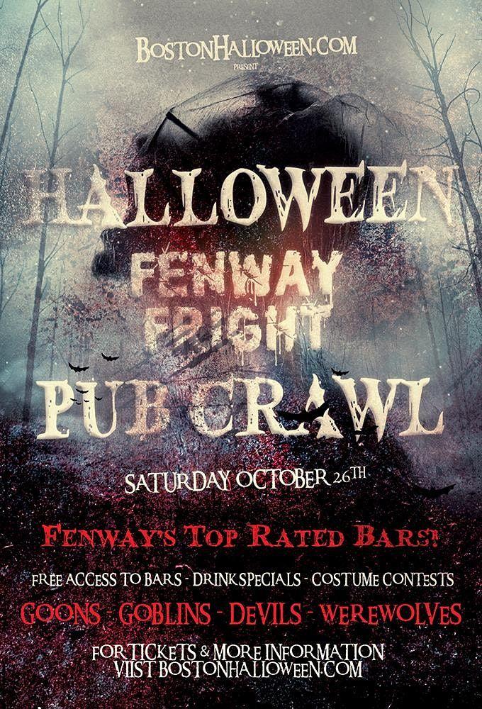 Halloween 2020 Fenway Theater Fenway Fright Night Halloween Bar Crawl 2020, Cheeky Monkey +