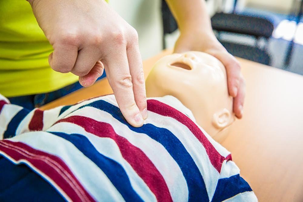 Levensreddend handelen bij babys en kinderen Geel