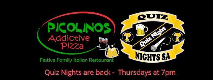 PICOLINOS QUIZ NIGHTS SA   Event in Sandton   AllEvents.in