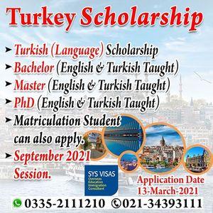 Study In Turkey 2021