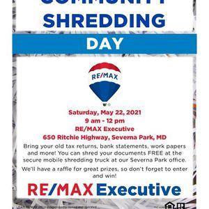 FREE Community Shred Event - Severna Park