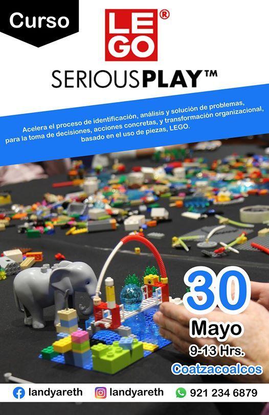 Curso Presencial - LEGO Serious Play en Coatzacoalcos