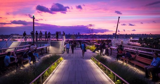 Singles Sunset Stroll on the High Line, 25 June | Event in New York | AllEvents.in