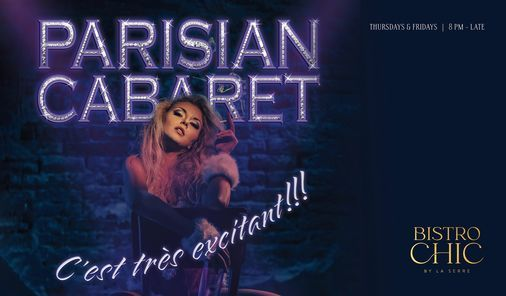 Parisian Cabaret, 15 April | Event in Dubai | AllEvents.in