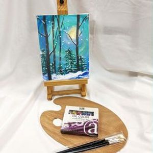 Winter Oil Paint Workshop with Paint Kit Included