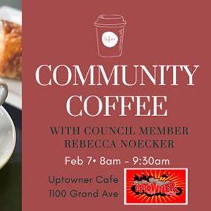 Community Coffee with Rebecca