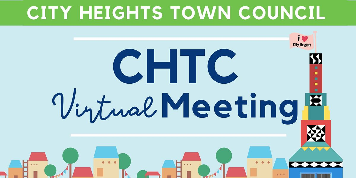 City Heights Town Council Meeting | Online Event | AllEvents.in