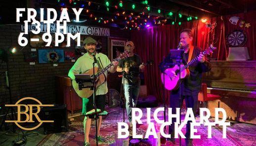 Richard Blackett, 13 August   Event in Cypress   AllEvents.in