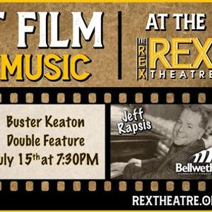 Silent Film with Live Music at the Rex Theatre