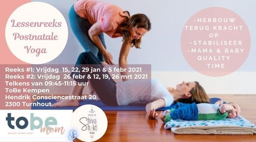 Postnatale mama-baby yoga, 26 February | Event in Turnhout | AllEvents.in